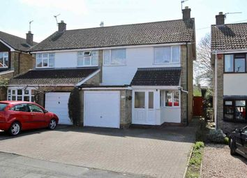 Thumbnail 3 bed semi-detached house for sale in Browning Drive, Hinckley