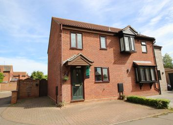 Thumbnail 2 bed semi-detached house for sale in Chatsworth Road, Mersea, Colchester