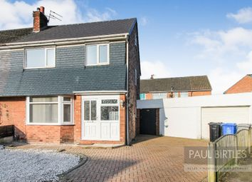 Thumbnail 3 bed semi-detached house for sale in Booth Drive, Davyhulme