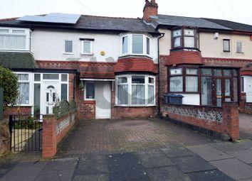 Thumbnail 3 bedroom terraced house for sale in Low Wood Road, Erdington, Birmingham