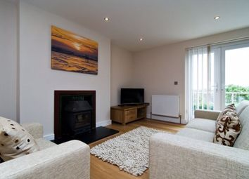 Thumbnail 2 bed flat to rent in Trebarwith Crescent, Newquay