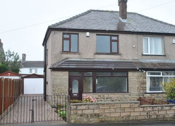 Thumbnail 3 bed semi-detached house for sale in Uplands Avenue, Queensbury, Bradford
