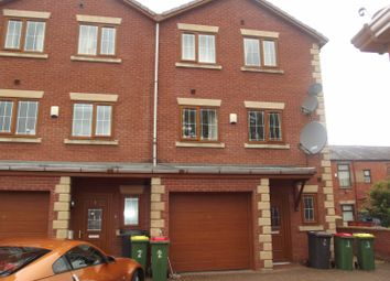 Thumbnail 4 bed town house to rent in Greenfield Gardens, Fulwood, Preston