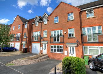 Thumbnail 4 bedroom town house for sale in Larch Gardens, Bilston