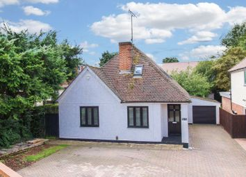 Thumbnail 4 bed detached bungalow for sale in Manor Road, Harlow