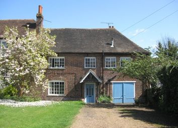 Thumbnail 1 bed flat to rent in Station Road, Chartham, Canterbury