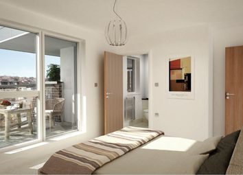Thumbnail 1 bed flat for sale in Powys Lane, London, London