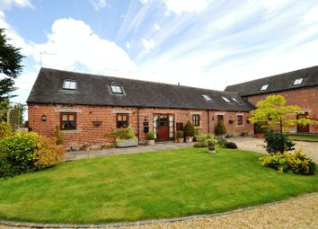 Thumbnail 4 bed barn conversion for sale in Nobut Road, Leigh, Stoke-On-Trent