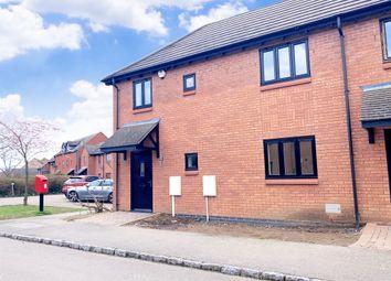 Thumbnail 2 bed terraced house for sale in Swanwick Lane, Broughton, Milton Keynes