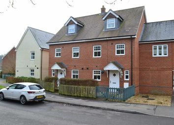 Thumbnail 3 bed town house for sale in Pinewood Crescent, Hermitage, Berkshire