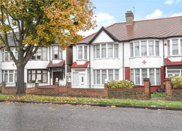 Thumbnail 3 bedroom end terrace house for sale in Hedge Lane, Palmers Green, London
