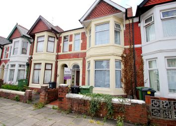 Thumbnail 5 bedroom terraced house to rent in Summerfield Avenue, Cardiff, Cardiff.