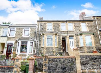 Thumbnail 3 bed terraced house for sale in New Road, Argoed, Blackwood