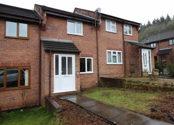 Thumbnail 2 bed terraced house to rent in Wyefield Court, Monmouth