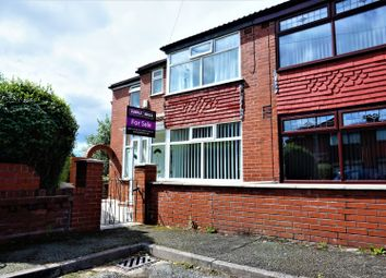Thumbnail 3 bed semi-detached house for sale in Leyton Avenue, Manchester