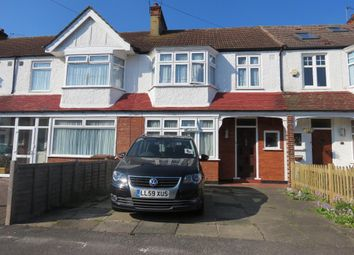 Thumbnail 3 bed terraced house for sale in Greenway, Raynes Park, London