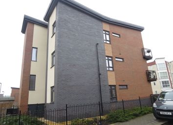 Thumbnail 2 bed flat for sale in Norville Drive, Hanley, Stoke-On-Trent, Staffordshire