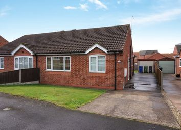 Thumbnail 2 bed bungalow for sale in Tennyson Close, Caistor