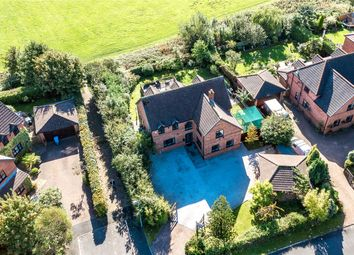 Thumbnail 4 bed detached house for sale in Poynt Chase, Worsley, Manchester