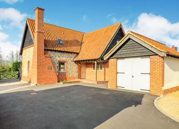 Thumbnail 3 bed detached house for sale in Fen Willow Mews, East Harling, Norwich