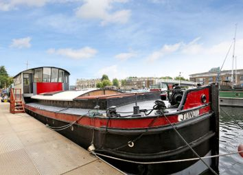 Thumbnail 2 bed houseboat for sale in Greenland Dock Marina Rotherhithe, London