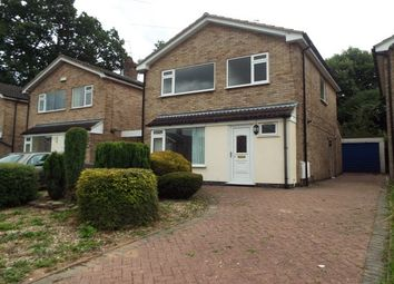 Thumbnail 3 bed detached house to rent in Patterdale Drive, Loughborough