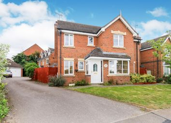 Thumbnail 4 bedroom detached house for sale in Foxfield Way, Grange Park, Northampton