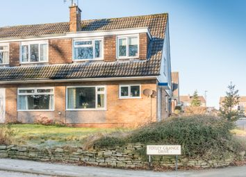 Thumbnail 3 bedroom semi-detached house for sale in Totley Grange Road, Sheffield