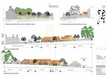 Thumbnail 3 bed detached bungalow for sale in Church Lane, Heacham, King's Lynn