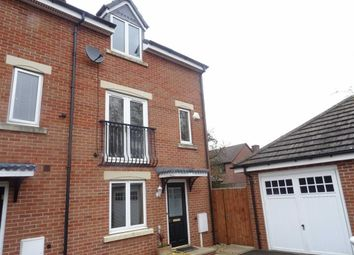 Thumbnail 4 bed town house to rent in De Havilland Way, Burbage, Hinckley