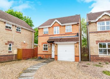 Thumbnail 3 bed detached house for sale in Blackberry Close, South Hykeham, Lincoln