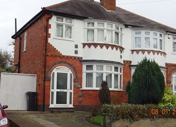 Thumbnail 3 bed semi-detached house to rent in Welford Rd, Knighton Leicester