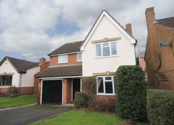 Thumbnail 4 bedroom detached house to rent in Fox Road, Castle Donington, Derby