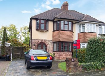 Thumbnail 3 bedroom semi-detached house for sale in Glebe Gardens, Old Malden, Worcester Park