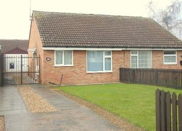 Thumbnail 2 bed semi-detached bungalow to rent in Butler Close, Rushey Mead, Leicester