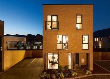 Thumbnail 4 bed terraced house for sale in The Chase, Newhall, Harlow, Essex