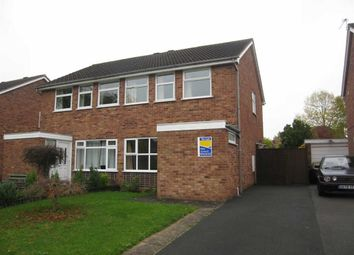 Thumbnail 3 bed semi-detached house to rent in Tudor Road, The Farthings, Shrewsbury