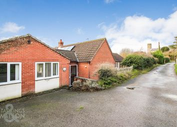 Thumbnail 1 bed semi-detached bungalow to rent in Church Lane, Haddiscoe, Norwich