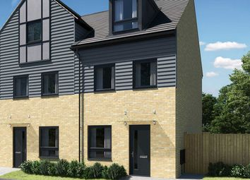 "Thumbnail 3 bed town house for sale in ""The Wyatt"" at Thorn Road, Houghton Regis, Dunstable"