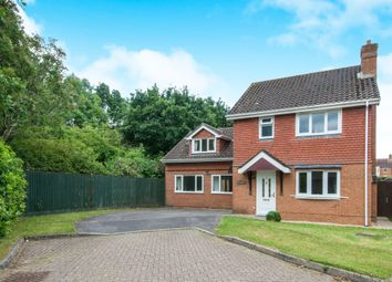 Thumbnail 4 bed detached house for sale in Oatlands, Romsey