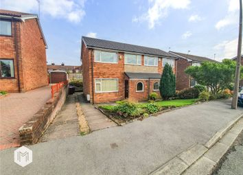 Thumbnail 3 bed semi-detached house for sale in Trinity Crescent, Worsley, Manchester