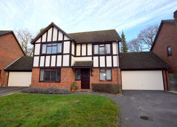 Thumbnail 4 bed detached house for sale in Hawkins Way, Fleet