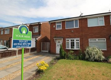 Thumbnail 2 bed semi-detached house to rent in Brindlehurst Drive, Astley, Tyldesley, Manchester