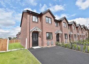 Thumbnail 3 bed town house for sale in Cromwell Road, Eccles, Manchester