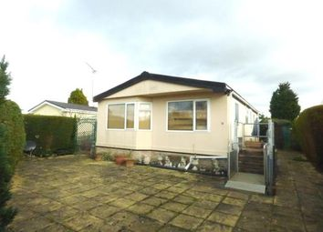 Thumbnail 3 bed mobile/park home for sale in Wallow Lane, Great Bricett, Ipswich