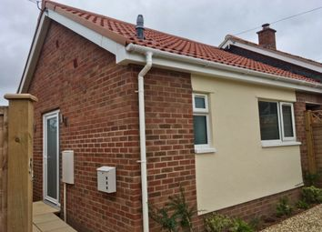 Thumbnail 2 bed bungalow to rent in Broad Close, Wells