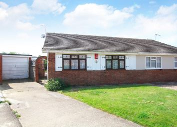 Thumbnail 2 bed semi-detached bungalow for sale in Eden Road, Seasalter, Whitstable