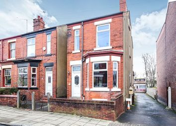 Thumbnail 3 bedroom detached house for sale in Crescent Road, Stockport