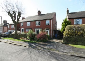 Thumbnail 3 bed semi-detached house for sale in Morris Avenue, Chesterfield