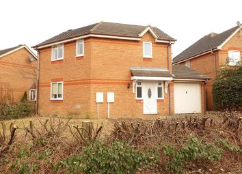 Thumbnail 3 bed link-detached house to rent in The Oval, Oldbrook, Milton Keynes
